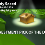 Addy Saeed Investment Pick of the day