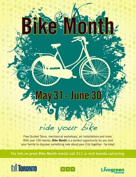 Toronto Bike Month 2013