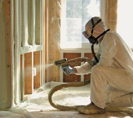 Spray Foam Insulation Termites in Toronto