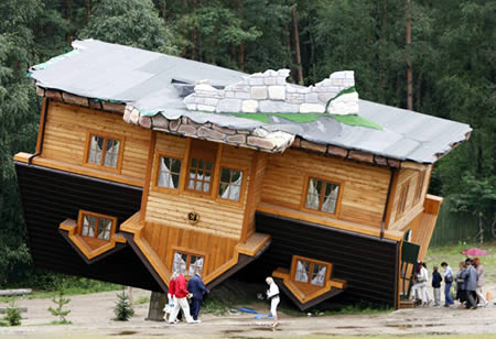 Obscure Homes Upside-Down