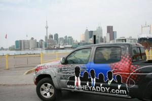 HeyAddy Truck on Toronto Pier
